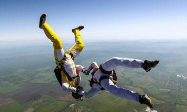 Skydiving Seniors