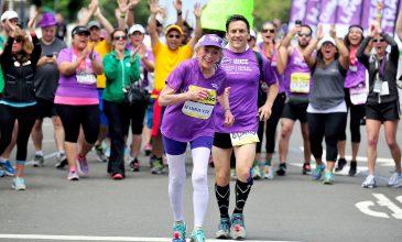 Oldest Lady to Run a Marathon