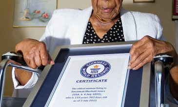 The New Oldest Woman Alive