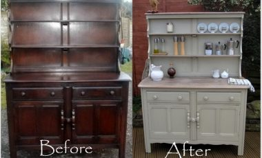 How to Take Old Furniture and Make it Look New