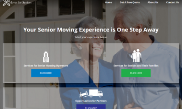 Moves for Seniors New Website