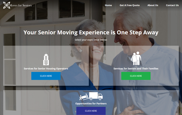 Moves for Seniors New Website