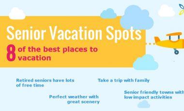 8 Senior Vacation Spots