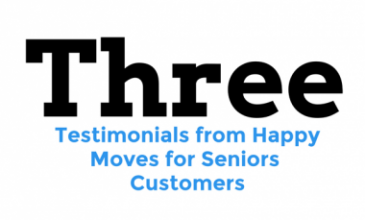 Testimonials from Moves for Seniors