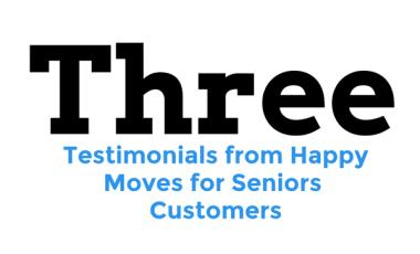 Testimonials from Moves for Seniors